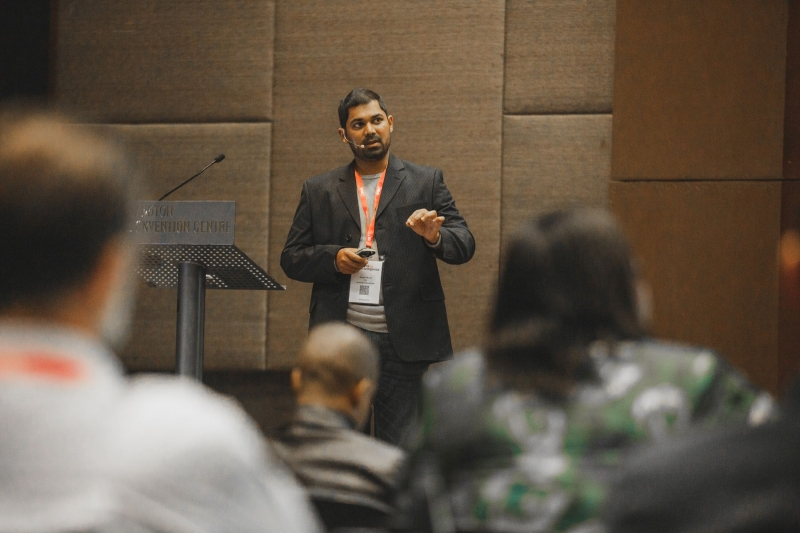 Ameer Osman, Business Intelligence Analyst/Developer at 2U in session