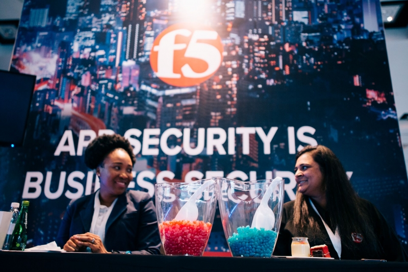 F5 Networks stand
