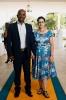 Phinda Ncala, CIO, MTN SA and Margaret Ncala