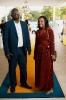 Edward Ndou, CIO, Gauteng Department of Roads & Transport and Mrs Ndou