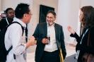 Rushdi Jaylarnie  BPM Development Practice Lead, Standard Bank Group networking with delegates
