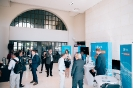 Delegates networking at the UiPath display