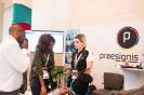 Delegates visiting the Praesignis exhibition