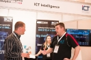 Delegate visiting the ICT Intelligence stand
