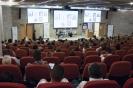 Room full of attentive delegates