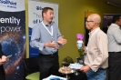 Networking at  the SailPoint stand
