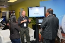 Networking at the Alcatel-Lucent Enterprise stand