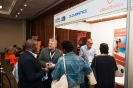 Cloudistics representatives networking with delegates