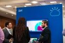 Delegates visiting the IBM stand