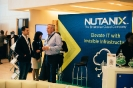 Delegates networking at Nutanix stand
