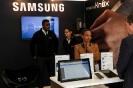 Diamond sponsor Samsung stand