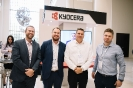 Kyocera staff at the display area