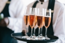 Welcome drinks served at the Margin 2018 Channel Banquet Survey