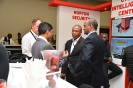 Delegates networking at sponsors stand