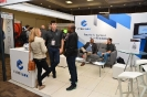 Delegates networking at the Cyberark stand