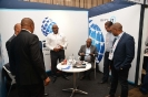 Delegates networking at the M2TD stand
