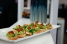 Food served at the Security Summit 2018