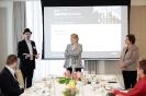 Ivo Vegter, Noelle Cowling and Elmarie Biermann (Prof) presenting
