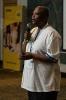 Mothibi Ramusi  presenting