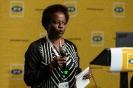 Monica Rubombora  presenting