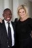 Mandla Mkhwanazi with Caryn Berman