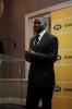 Mandla Mkhwanazi, presenting