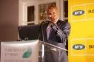Victor Kgomoeswana presenting