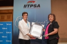 Dr Jill Sawers, CEO, Axess Consulting with Ulani Exner, IITPSA President