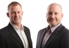 Centbee CEOs, Angus Brown and Lorien Gamaroff.