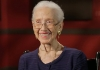 Katherine Johnson, former physicist? and ?mathematician at NASA.