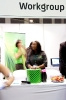 Activity at the Workgroup stand