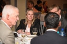 Ddelegates networking at the executive dinner