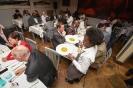 Delegates at dinner