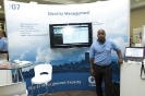 CA ID Management exhibition stand