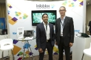 Infoblox Exhibition area