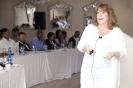Lesley Plaistowe during her presentation