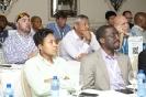 Delegates during presentations