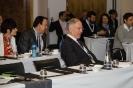 Delegates in briefing venue