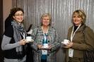 Delegates during tea break.