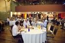 Delegates at breakfast