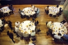 Delegates during break