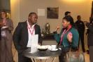 Delegates at tea