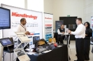 The MicroStrategy stand