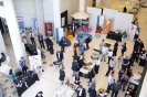 Sponsors and delegates in exhibition area