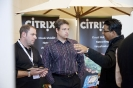 Networking at the Citrix stand