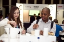 Security Summit Delegates during tea break