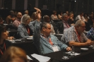 Delegates in session