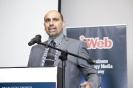 Sal Laher, CIO of Eskom and Visionary CIO 2013, accepting his award