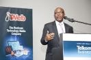 Mteto Nyati, MD of Microsoft SA, 2013 IT Personality co-winner, accepting his award