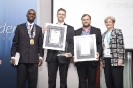 Acceptance of Awards with Wellington Matope and Gail Sturgess